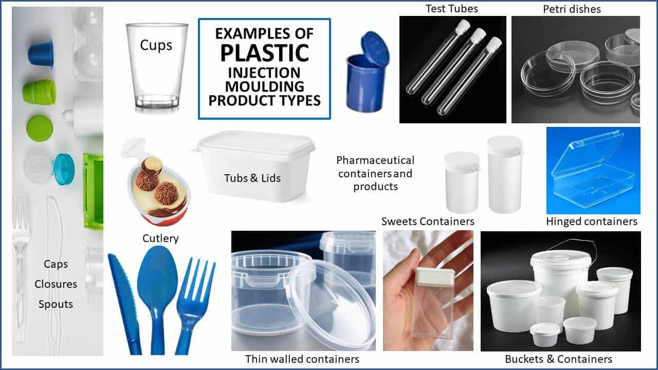 Examples of Contract Molding plastic food packaging products