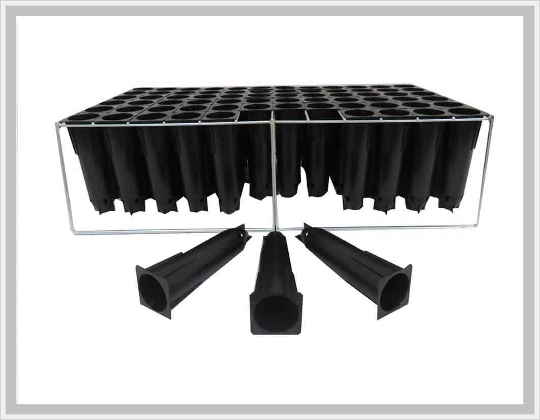 72 trays