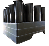 Seed Trays 60 Unit with 230cc plastic tube