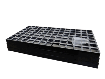seed tray 98 unit with loose tubes